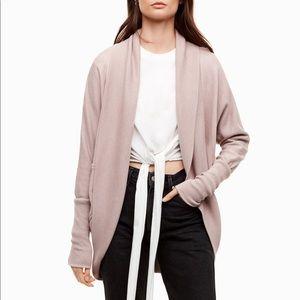 Aritzia WILFRED Diderot Sweater Cardigan- Small